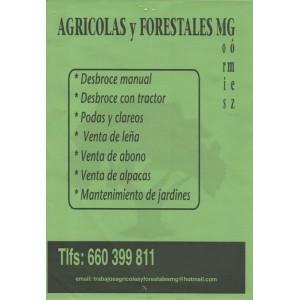 Agrícolas y Forestales MG, servicios forestales y agrícolas en Betanzos y comarca