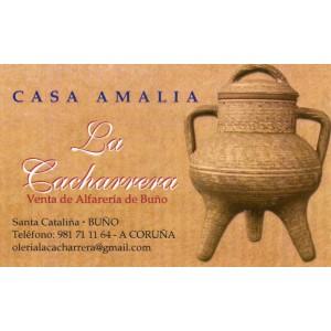 Casa Amalia (La Cacharrera), venta de alfarería en Buño