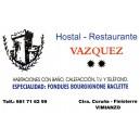 Hostal-Restaurante VÁZQUEZ