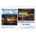 Restaurante San Martín