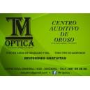 TM ÓPTICA, en Oroso, Sigüeiro, Santiago de Compostela